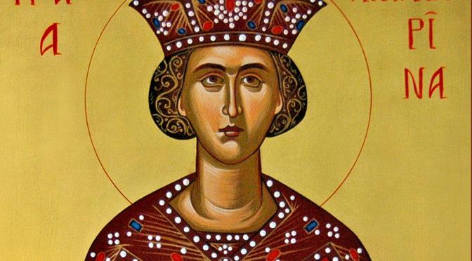 Ιερά Αγρυπνία υπέρ της Μεγαλομάρτυρος και Νύμφης του Χριστού Αγίας Αικατερίνης