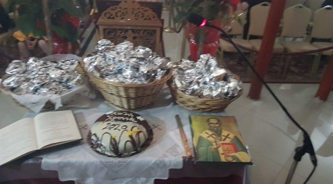 Πρωτοχρονιάτικη Θεία Λειτουργία & κοπή βασιλόπιτας 01-01-2020