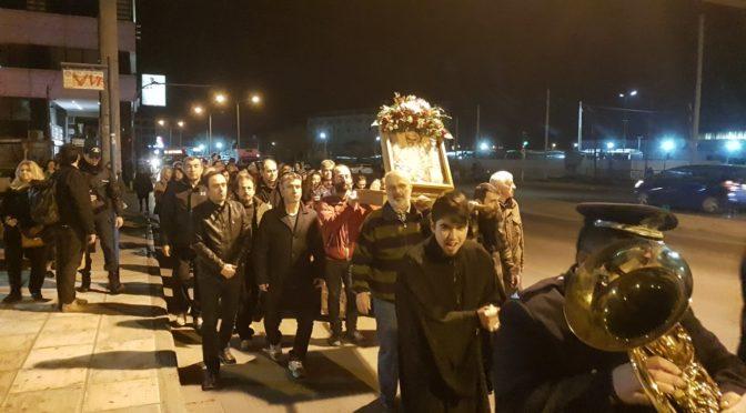 Λιτανεία Ιερού Λειψάνου και Ιεράς Εικόνος Αγίου Πολυκάρπου [Κυριακή 23-02-2020]
