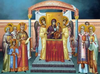 Α΄ Χαιρετισμοί στην Υπεραγία Θεοτόκο & Κυριακή της Ορθοδοξίας