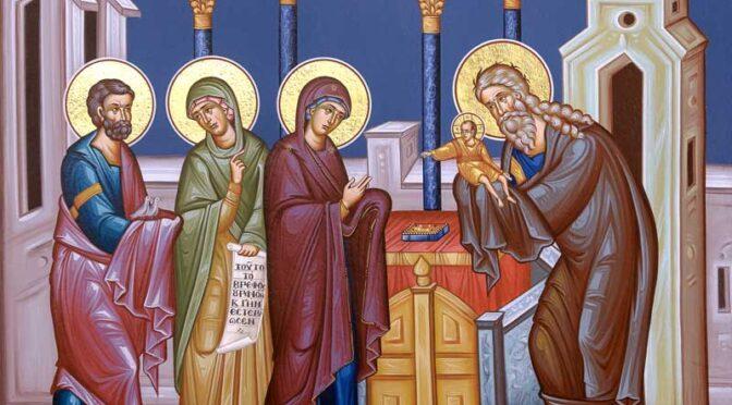 Θ.Λειτουργία – Εορτή της Υπαπαντής του Κυρίου & κύρηγμα π.Στυλιανού