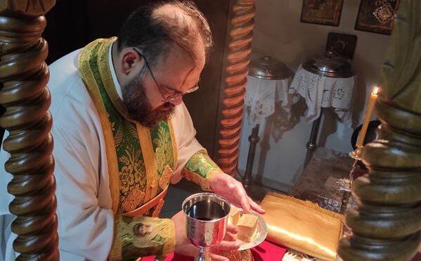 Θ.Λειτουργία ( Κυριακή των Αγίων 318 Πατέρων )