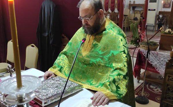 Κύρηγμα π.Στυλιανού Χαρπαντίδη στην Θ.Λειτουργία